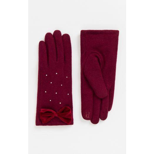 Pia Rossini | Myla Gloves - Red
