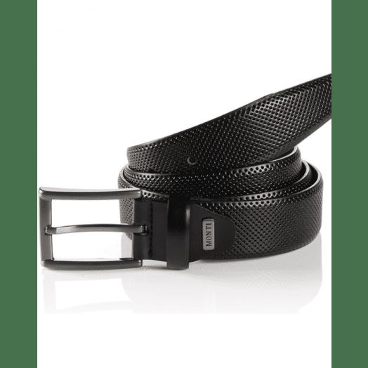 Monti | Dublin Men's Belt-Black