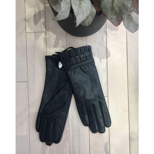Numph | Filomena Gloves - Caviar Black