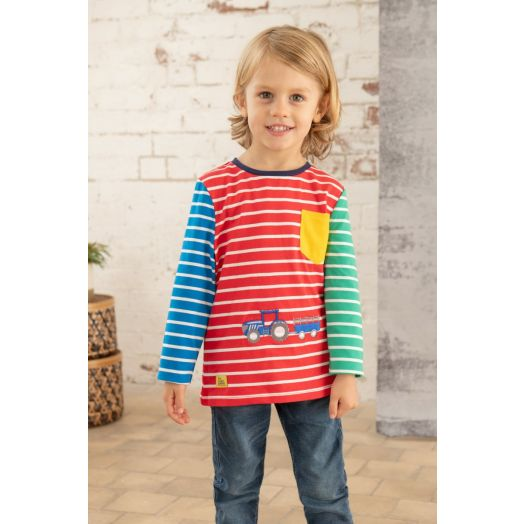 Lighthouse   Oliver Tractor Print Top