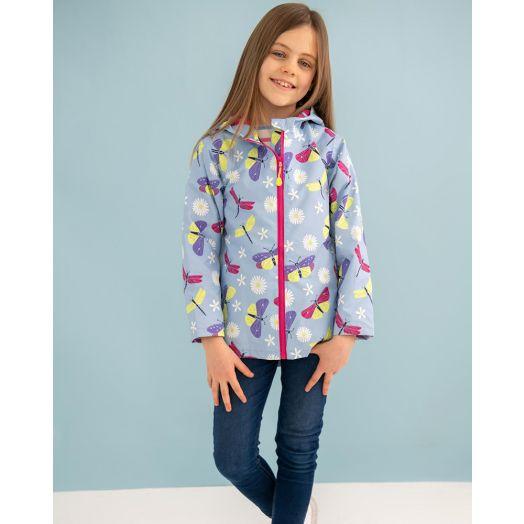 Lighthouse   Olivia Waterproof Jacket- Butterfly Print