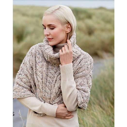 Patrick Francis | Speckled Cape | Oatmeal