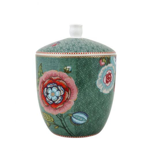 Pip Studio | Spring To Life Medium Storage Jar | Green