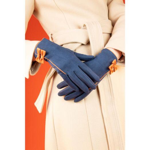 Powder   Doris Gloves in Navy