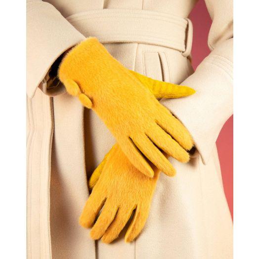 Powder   Grace Gloves in Mustard