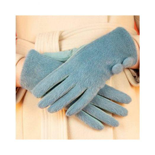 Powder   Grace Gloves in Denim