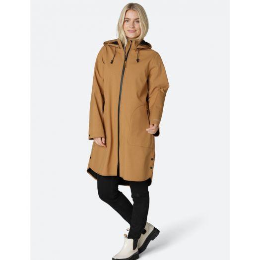 Ilse Jacobsen | Softshell Raincoat 128- Cashew