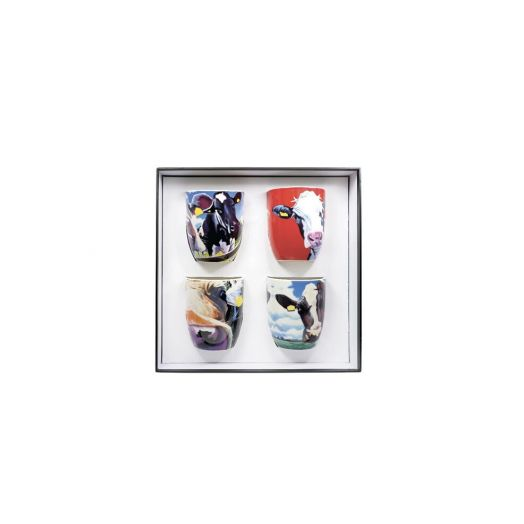 Tipperary Crystal | Eoin O Connor | Cow Mugs