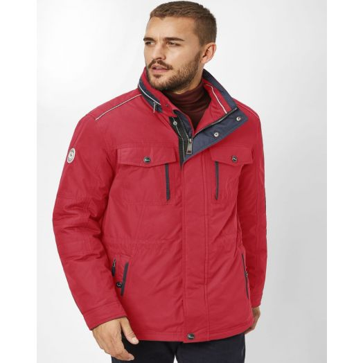 Redpoint | Luis Padded Jacket-Dark Red