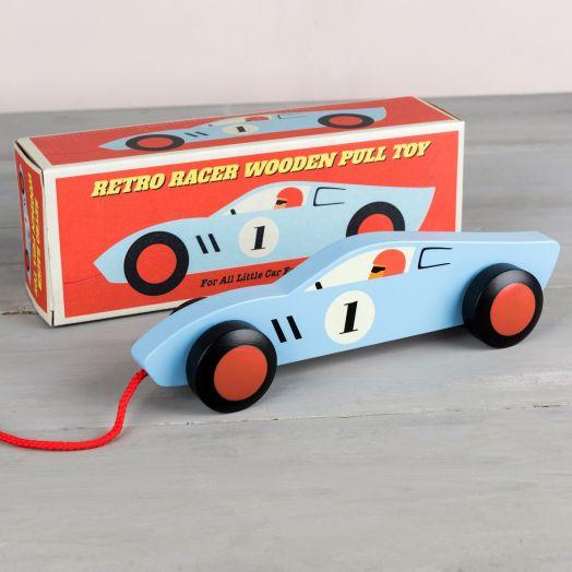Rex London | Retro Racer Pull Toy