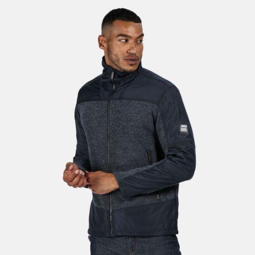 Regatta   Zorian Full Zip Fleece-Navy