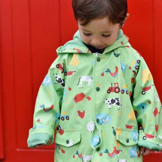 Powell Craft | On The Farm Raincoat