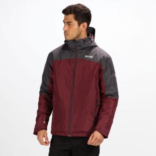 Regatta | Macken Waterproof Insulated Jacket- Fig/Seal Grey