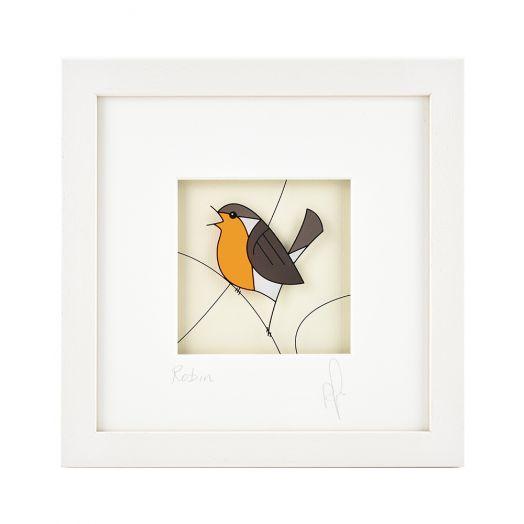 Black Hen Designs | Robin Framed Art