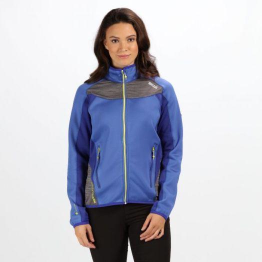 Regatta   Yare  Stretch Softshell Jacket-Blueberry Pie