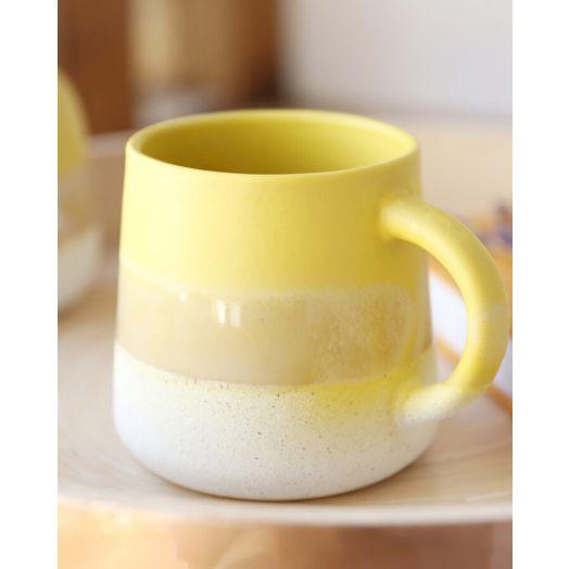 Sass and Belle | Mojave Glaze Mug - Yellow