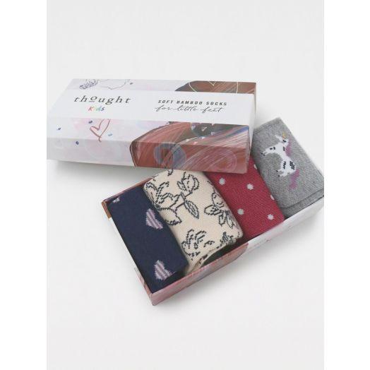 Thought   Lettie Unicorn Baby Socks Set of 4