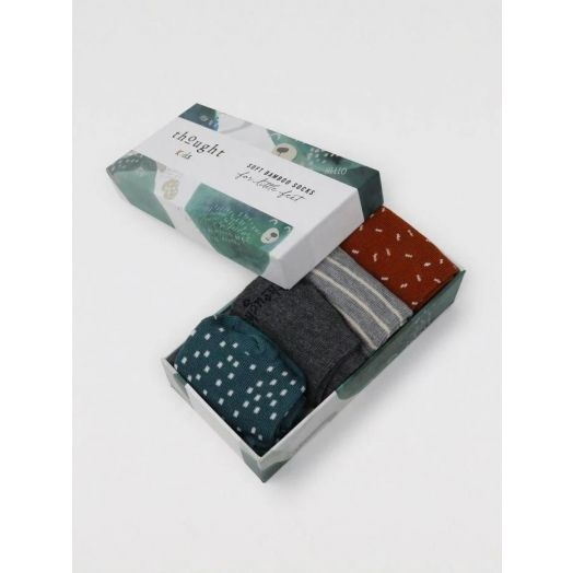 Thought | Orpha Animal Socks Set of 4