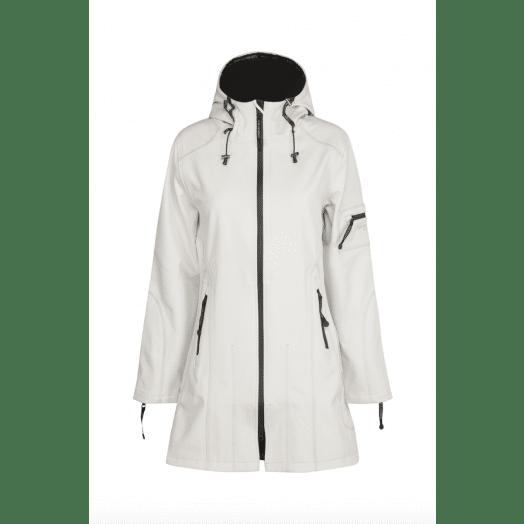 Ilse Jacobsen | Softshell Raincoat Rain7- White Sugar