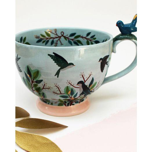 House of Disaster | Secret Garden Bird Teacup