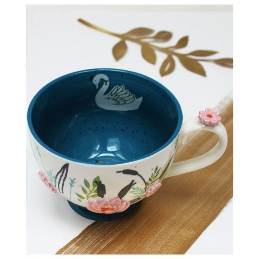 House of Disaster | Secret Garden Swan Teacup