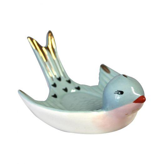 House of Disaster | Secret Garden Bird Trinket Dish
