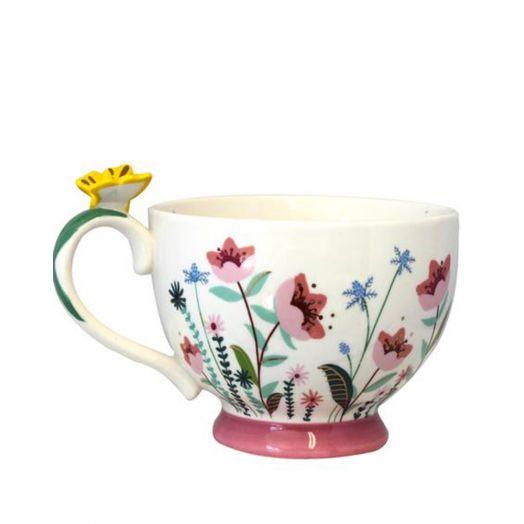 House of Disaster | Secret Garden Flower Teacup
