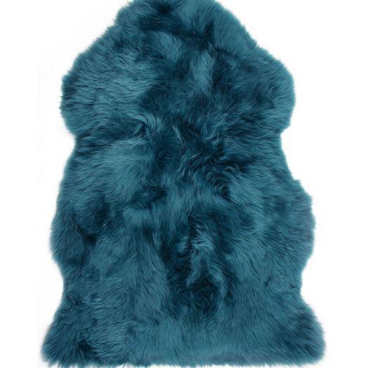 Sheepskin Rug | Turquoise