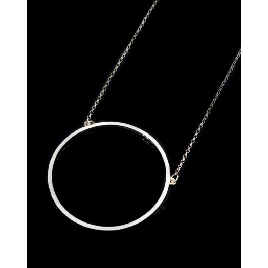 Lynsey De Burca | Ancaire Silver Large Necklace