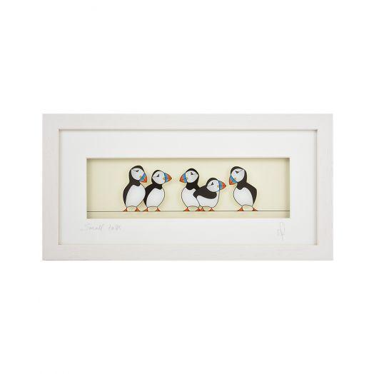 Black Hen Designs | Small Talk Framed Art