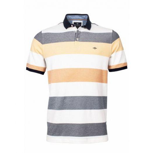 Bailey's | Polo Shirt | Yellow Stripe
