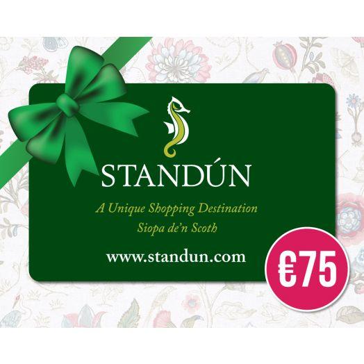 Standún Postal Gift Card: €75