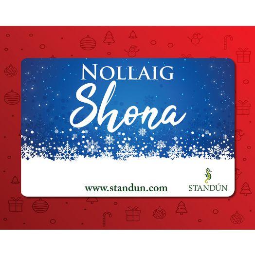 Standún eGift Card: Nollaig Shona