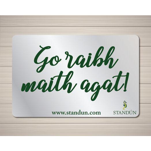 Standún eGift Card: Go Raibh Maith Agat