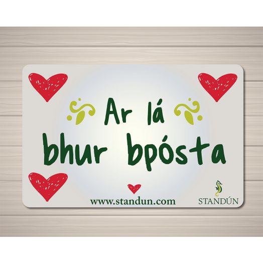Standún eGift Card: Ar La Bhur bPosta