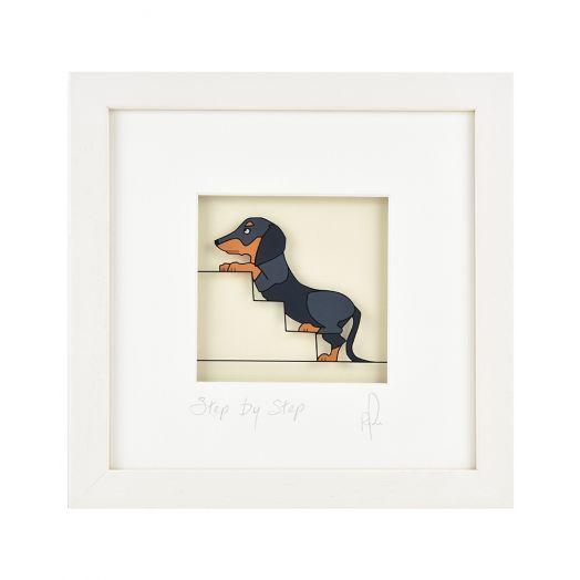 Black Hen Designs | Step By Step Framed Art