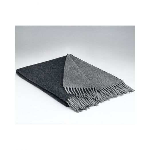 Mcnutt   Supersoft Reversible Throw- Charcoal