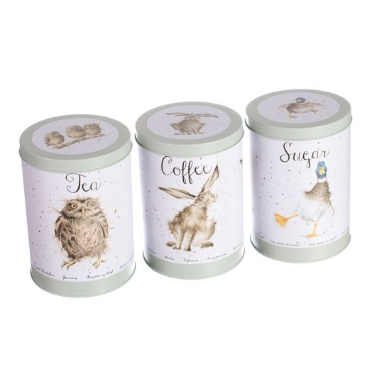 Wrendale | Tea Coffee and Sugar Canister