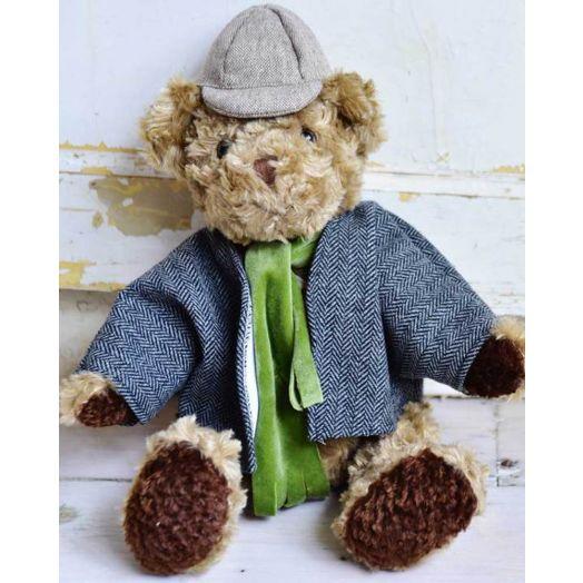 Powell Craft |  Bear Detective Teddy- 20cm