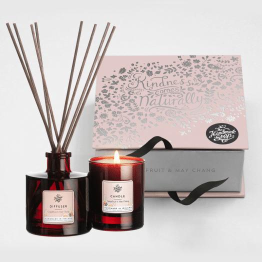 The Handmade Soap Company | Grapefruit and May Chang Gift Set