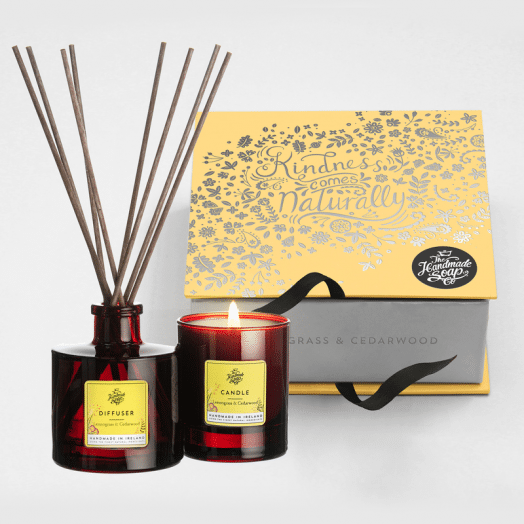 The Handmade Soap Company | Lemongrass and Cedarwood Gift Set