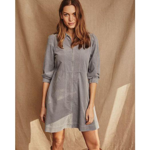 Part Two | Eyvor Cord Dress - Tradewinds Blue