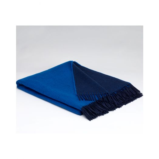 Mcnutt   Supersoft Reversible Throw- Twilight Blue