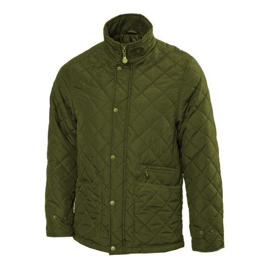 Vedoneire men's quilted jacket in green