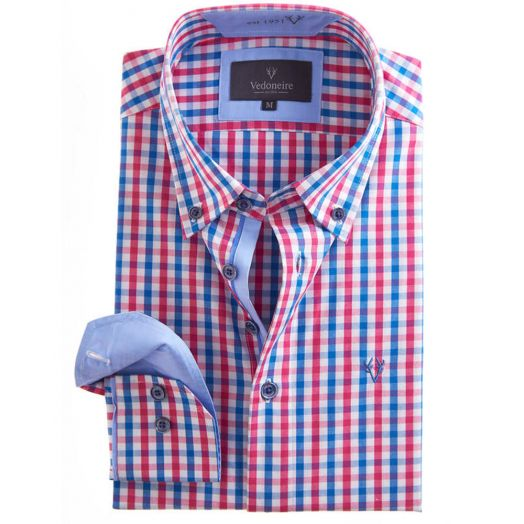 Vedoneire Soft Peach Classic L/S Shirt Valprisso