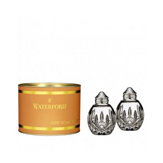 Waterford Crystal   Giftology Lismore Salt and Pepper Set