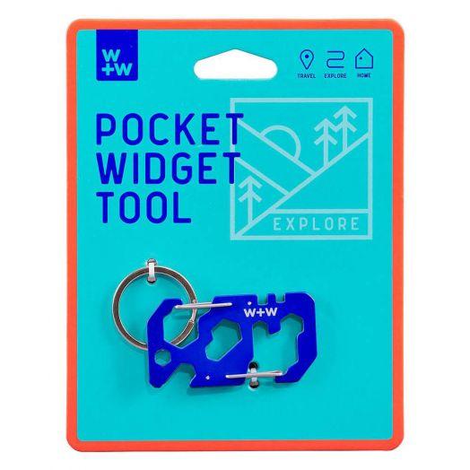 Wild and Wolf  Pocket Widget Key Chain Tool