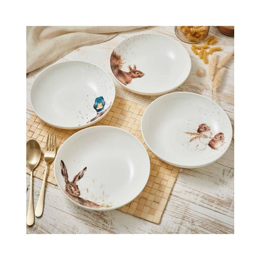 Wrendale | Assorted Pasta Bowls - Set of 4