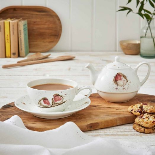 Wrendale | Robin Tea for One Set