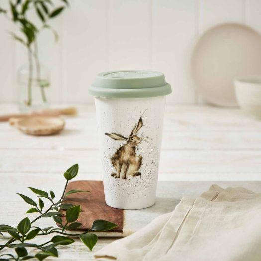 Wrendale | Good Hare Day Travel Mug